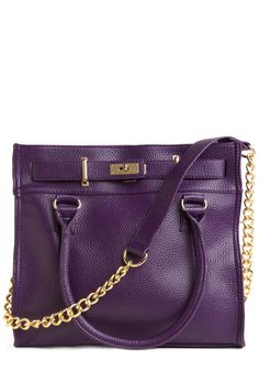 darn you, @Keneisha Sinclair...I will probably have to buy this now!    Eggplant for Every Occasion Bag