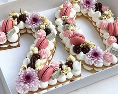 Birthday Cake 30, Number Birthday Cakes, 21st Birthday Decorations, Beautiful Birthday Cakes, Birthday Cakes For Women, Number Cakes, Beautiful Cakes, Amazing Cakes, 25th Birthday Ideas For Her