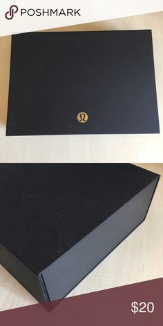 Limited Edition 2016 Holiday Lululemon Gift Box Magnetic Closure / only given to full time employees lululemon athletica Accessories
