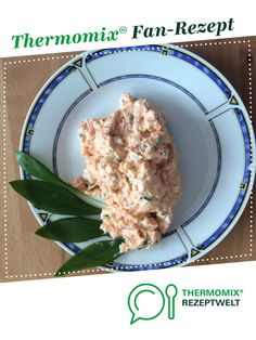 Bärlauch - Lachscreme von Thermoschorsch. Ein Thermomix ® Rezept aus der Kategorie Saucen/Dips/Brotaufstriche auf www.rezeptwelt.de, der Thermomix ® Community.