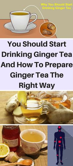 You Should Start Drinking Ginger Tea And How To Prepare Ginger Tea The Right Way – OBSOLO