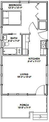 12x30 Tiny House 12x30h1a 358 Sq Ft Excellent
