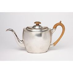 late eighteenth-century sheffield teapot