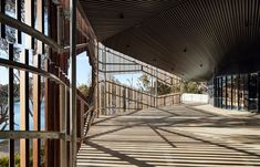 Image 12 of 38 from gallery of Centre for Nyoongar Culture and Environmental Design / iredale pedersen hook architects. Landscape Architecture, Interior Architecture, Shading Device, The Far Side, Cultural Center, Environmental Design, Western Australia, Cladding, Habitats