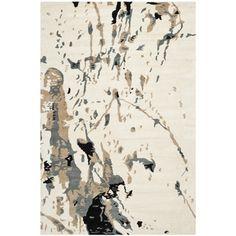 Safavieh Handmade Bella Ivory/ Grey Wool Rug (8' x 10') | Overstock.com Shopping - Great Deals on Safavieh 7x9 - 10x14 Rugs