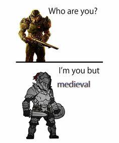 Insert Goblin to start Funny Gaming Memes, Gamer Humor, Stupid Funny Memes, Hilarious, Funny Sarcasm, Nurse Humor, Video Game Memes, Video Games Funny, Funny Games