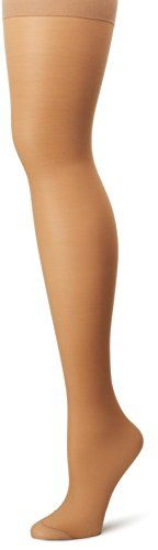 Hanes Womens Set of 3 Alive Full Support Control Top RT Pantyhose -- For more information, visit image link.