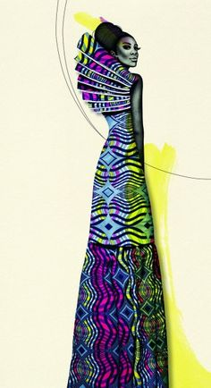 FAB News: Vlisco launches new collection �Delicate Shades� and Campaign Ad today � by Sharon Ojong