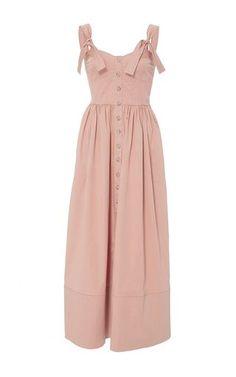 Rebecca Taylor – Cotton Midi Dress - All About Cotton Dresses, Cute Dresses, Casual Dresses, Summer Dresses, Midi Dresses, Look Fashion, Skirt Fashion, Fashion Dresses, Womens Fashion