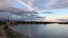 (almost) midsummer scenery from Helsinki.  #helsinki #löyly #nofilter #nofilterneeded