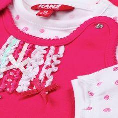 Strampler+Shirt langarm von KANZ