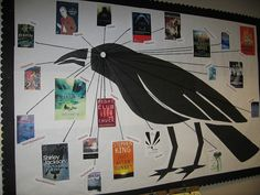 Tumwater Library - Timberland Reads Together Edgar Allan Poe 2010 - Poe Read alikes display by Timberland Regional Library, via Flickr