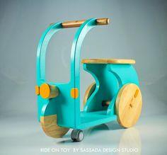 Kids wooden Ride on toy (2012) By sassada design