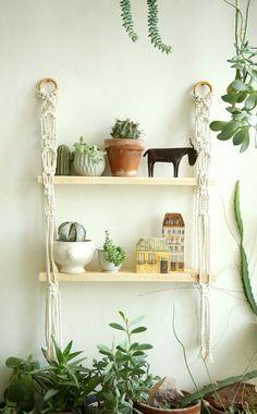 Excited to share the latest addition to my #etsy shop: Macrame shelf, Macrame Wall Hanging Shelf , Shelf, Modern Macrame, Boho Hanging Shelf, hanging shelf, Boho decor, boho home https://etsy.me/2LndW4e #housewares #homedecor #white #kitchendining #beige #macrame #vale