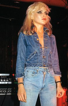LADY SINGS THE BLUES: DEBBIE HARRY DOES DENIM ON DENIM IN 1978
