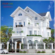 thiết kế nhà phố cổ điển mang đến sự uy nghi, nguy nga, lộng lẫy và thể hiện được sự giàu sang, quyền quý của gia chủ