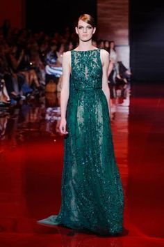 Elie Saab Fall 2013 Couture Runway - Elie Saab Haute Couture Collection - ELLE