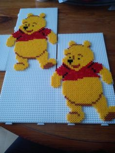 Winnie the Pooh hama beads by  priscilla6793