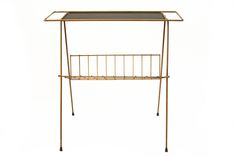 Image of Golden Age: Magazine Rack Table Golden Age, Antique Furniture, Magazine Rack, Cabinet, Antiques, Storage, Table, Vintage, Collection