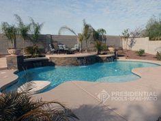 custom pool gallery presidential pools • spas • patio garden