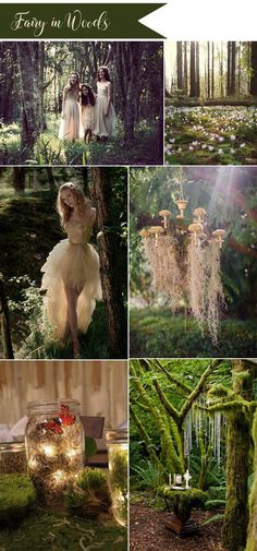 wild forest fairy tale wedding ideas