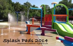 Our very own Hodgkins Park District opened up their splash pad, Splash Harbor, in the summer of 2013. Everyone can come and enjoy it on those hot summer days, and it is truly a hit within the town. It was even listed as one of the top local Splash Pads of 2014!