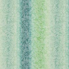 yuzen - jade fabric | Designers Guild