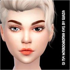 All by Glaza: Heterochromia eyes 1 • Sims 4 Downloads