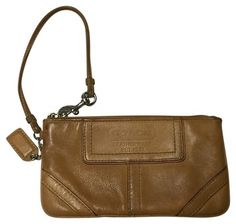 Coach Wristlet in Brown, $30 shipped!