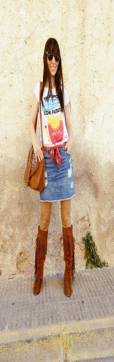 Special t-shirt - Temporada: Primavera-Verano - Tags: blogger, fashion, look, t-shirt, ootd, style, - Descripción: http://sstardivariuss.blogspot.com.es/2016/05/este-inicio-de-semana.html