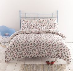 CATH KIDSTON BUTTERFLIES KING SIZE DUVET COVER AND PILLOWCASE BED SET