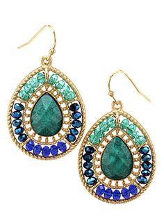 My favorite colors all in one set of earrings