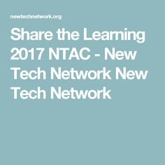Resources This past July, educators and leaders from across the country and Australia convened in St. Louis, Missouri for the 2017 New Tech Annual Conference Project Based Learning, Tech, Education, Technology, Teaching, Onderwijs, Studying