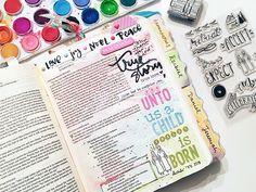 Bailey Jean Robert | True Story --//-- I *heart* (what look to be) her handwritten bible tabs!!!