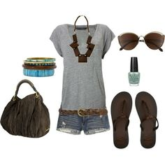 So my style I would wear all but the necklace ...cute & comfy!