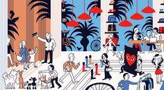 Illustrations | Monocle magazine 62 - Tomi Um