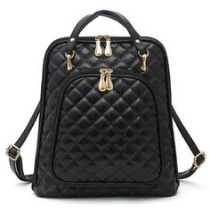 Multi Purpose Pu Leather Backpack V3