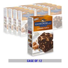GHIRARDELLI Caramel Turtle Brownie Mix (12 Box Case) $49.99 - FREE SHIPPING