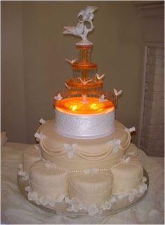 Bolo de Casamento, bolos de Casamento com Fontes Neles: bolos de Casamento com Fontes de para o Seu Casamento luxuoso