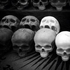 skull candles, camden lock market | Hannah Graham 2014