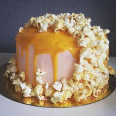 Homemade drip cake
