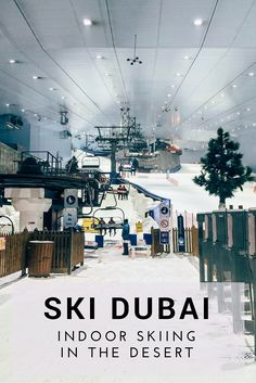 A review of Ski Dubai, the Middle East's only indoor ski resort - Where's Bel