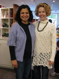 Soni + Alicia in January Sweater and Thick and Thin Tunic