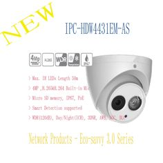 135.59$  Buy here - Free Shipping DAHUA Security IP Camera CCTV 4MP Full HD IR Eyeball Network Camera with POE IP67 Without Logo IPC-HDW4431EM-AS  #shopstyle