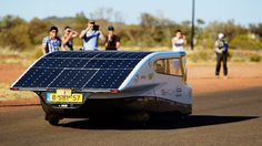 Stella Solar Car: Solar Team Eindhoven is a group of students from Eindhoven University of Technology who designed and built a four-seated solar car and raced it across Australia from Darwin to Adelaide.