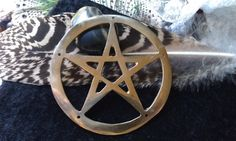 Pentagram Celtic Cross Alter Supply Wicca by CherylsGoodStuff, $7.50