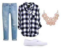 """""""fuller house"""" by rmarquez-1 on Polyvore featuring beauty, White House Black Market and Vans"""