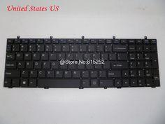 Laptop Keyboard For CLEVO W350ETQ W350SKQ W350SSQ W355STQ W370ET W370SK W370SSQ W370ST United Kingdom UK United States US Russia #Affiliate