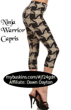 Ninja Warrior Capris
