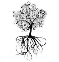 "I want this tree with thorny roots and the quote ""There is always more below the surface.""  -- a little tree #tattoo on the back. Tree Tattoo Inspiration Repinned From Tattoos By Chanelle Westlie"